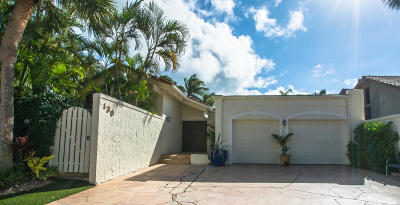 Jupiter Single Family Home For Sale: 130 Bonefish Circle