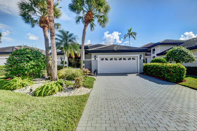 Boca Raton Single Family Home For Sale: 5545 Steeple Chase