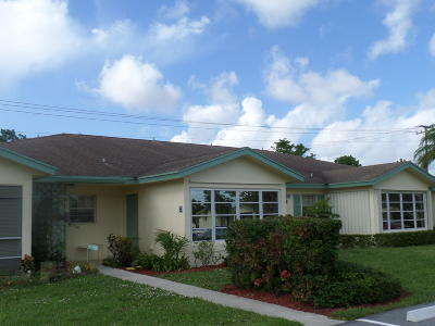 Delray Beach Condo For Sale: 5408 Lakefront Boulevard #B