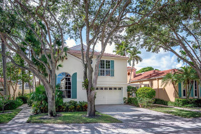 Palm Beach Gardens Single Family Home For Sale: 78 Via Verona