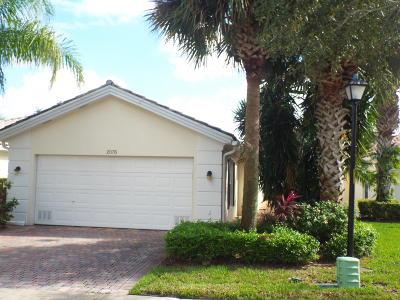 Wellington Single Family Home For Sale: 2076 Guadeloupe Drive