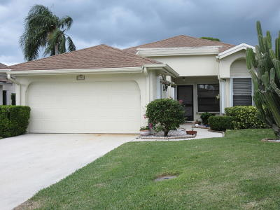 Palm Beach Gardens Single Family Home For Sale: 6998 Touchstone Circle