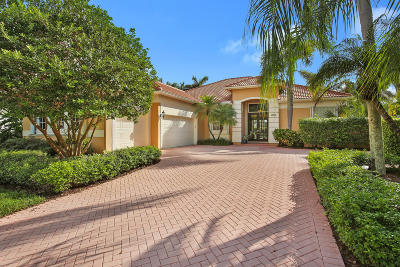 West Palm Beach Single Family Home For Sale: 8754 Lakes Boulevard