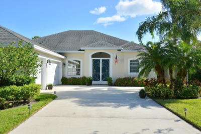 Jensen Beach Single Family Home For Sale: 2251 NW Windemere Drive