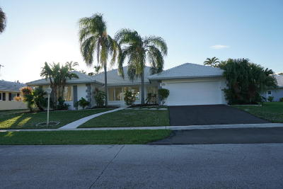Boca Raton Single Family Home For Sale: 1205 Mulberry Way