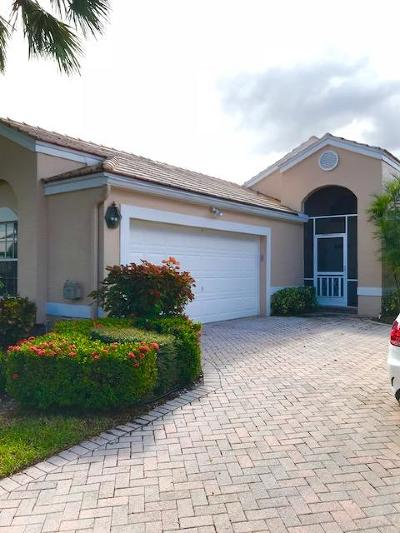 Boynton Beach Single Family Home For Sale: 6282 Water Lilly Lane