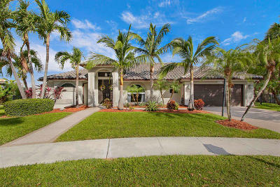 Boca Raton Single Family Home For Sale: 10735 Avenida Santa Ana