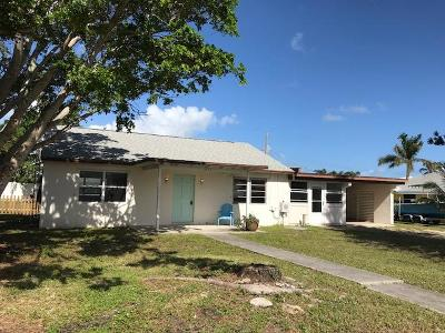 Jupiter Single Family Home For Sale: 3437 Palm Court