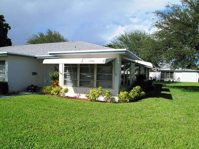 Delray Beach Single Family Home For Sale: 1125 South Drive #D