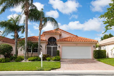 Boynton Beach Single Family Home For Sale: 11813 Haddon Parkway