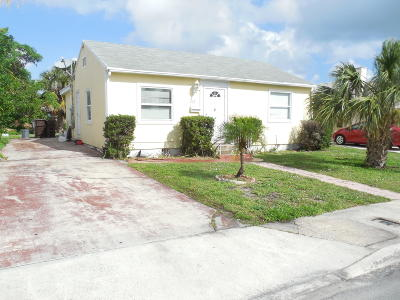 West Palm Beach Single Family Home Contingent: 817 McIntosh Street