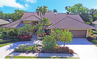 Boca Raton Single Family Home For Sale: 7412 Mandarin Drive