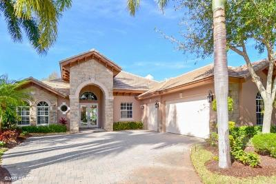 West Palm Beach Single Family Home For Sale: 7981 Cranes Pointe Way