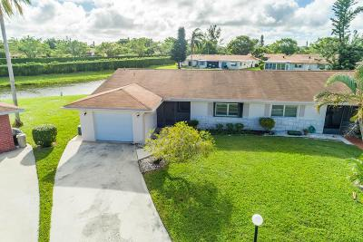 Delray Beach Single Family Home For Sale: 6056 Via Silvanus #a