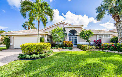 Boynton Beach Single Family Home For Sale: 7258 Amber Falls Lane