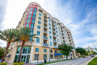 West Palm Beach Rental Leased: 410 Evernia Street #823
