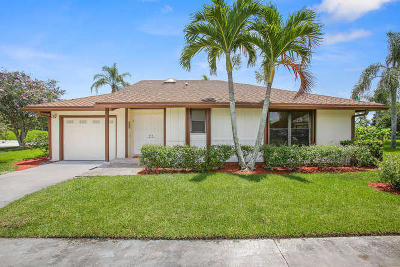Palm Beach Gardens Single Family Home For Sale: 13315 Cross Pointe Drive