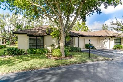 Boynton Beach Single Family Home For Sale: 4871 Hawkwood Road #A