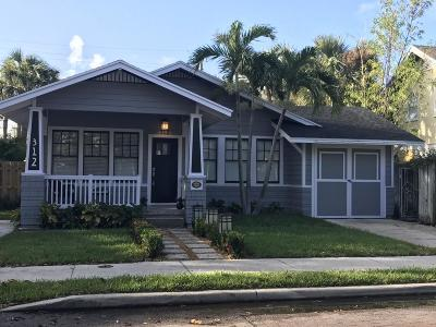 West Palm Beach Single Family Home For Sale: 312 Croton Way