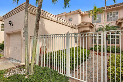 Boynton Beach Single Family Home For Sale: 8082 Aberdeen Drive #101