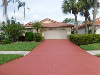 Delray Beach Single Family Home For Sale: 7827 Glen Garry Lane