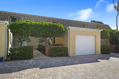 Ocean Ridge Townhouse For Sale: 5720 Old Ocean Boulevard #3w