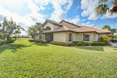 Boynton Beach Single Family Home For Sale: 8129 Cassia Drive