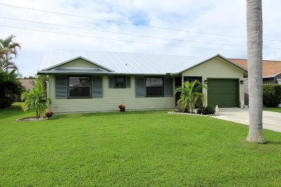 Stuart Single Family Home For Sale: 6712 SE Silverbell Avenue