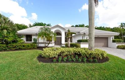 Boca Raton Single Family Home For Sale: 3015 Andrews Place