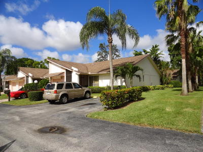 Lake Worth Single Family Home For Sale: 6991 Peony Place
