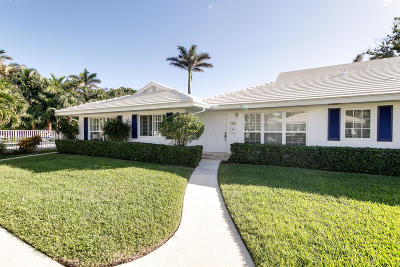 Palm Beach County Single Family Home For Sale: 125 Venetian Drive #B