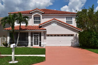 Boca Raton Single Family Home For Sale: 18287 Clear Brook Circle