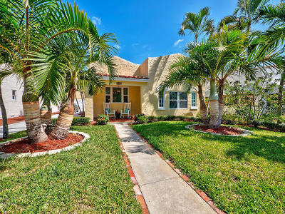 West Palm Beach Single Family Home For Sale: 531 Avon Road