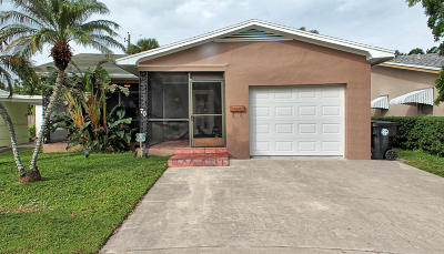 Lake Worth Single Family Home For Sale: 70 18th Avenue S