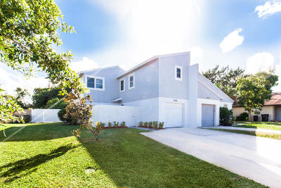 Delray Beach Townhouse For Sale: 5086 NW 5th Street