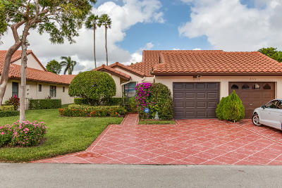 Delray Beach Single Family Home For Sale: 6319 Kings Gate Circle