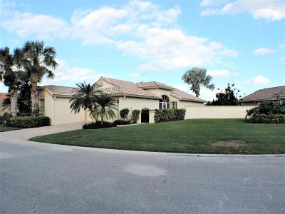 Boynton Beach Single Family Home For Sale: 7483 Granville Avenue