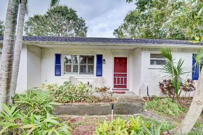Stuart Single Family Home For Sale: 1036 SE 14th Street