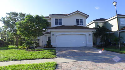 West Palm Beach Single Family Home For Sale: 6622 Adriatic Way