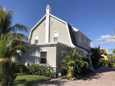 Lake Worth Single Family Home For Sale: 230 Princeton Drive