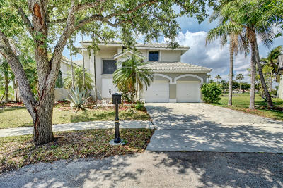 Pembroke Pines Single Family Home Contingent: 1280 SW 177th Terrace