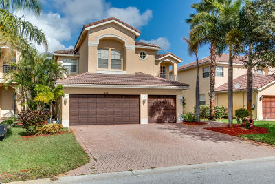 Boynton Beach Single Family Home For Sale: 8691 Woodgrove Harbor Lane