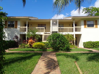 Boynton Beach FL Condo For Sale: $54,900