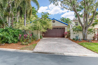 Boca Raton Single Family Home For Sale: 23497 Mirabella Circle S