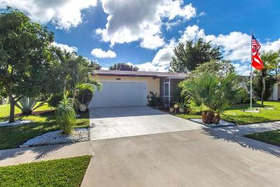 Delray Beach Single Family Home Contingent: 14606 Shadow Wood Lane