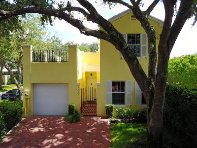 Boca Raton Townhouse For Sale: 5980 Bartram Street