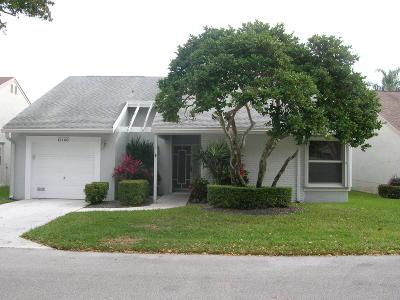 Boynton Beach Single Family Home For Sale: 12166 Country Greens Boulevard
