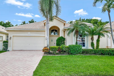 Delray Beach Single Family Home For Sale: 7612 Eagle Point Drive
