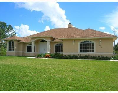 Loxahatchee Single Family Home For Sale: 15320 87th Road North