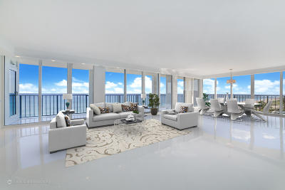 Ocean Towers, Ocean Towers Condominium, Ocean Towers South Condo Apts Condo For Sale: 2800 S Ocean Boulevard #7-M